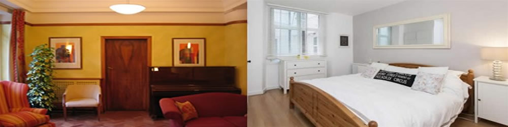 In Putney, London SW15, several decorating/painting works